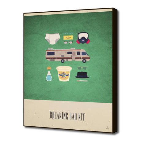 "The Breaking Bad Kit (16""W x 20""H x 1.5""D)"