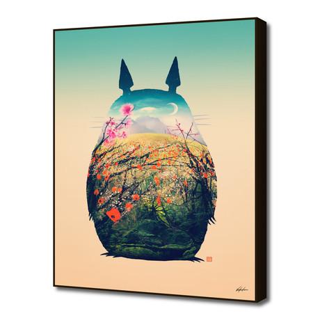 """Tonari No Totoro, Special Edition (16""""W x 20""""H x 1.5""""D)"""