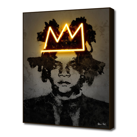 "Basquiat (16""W x 20""H x 0.2""D)"