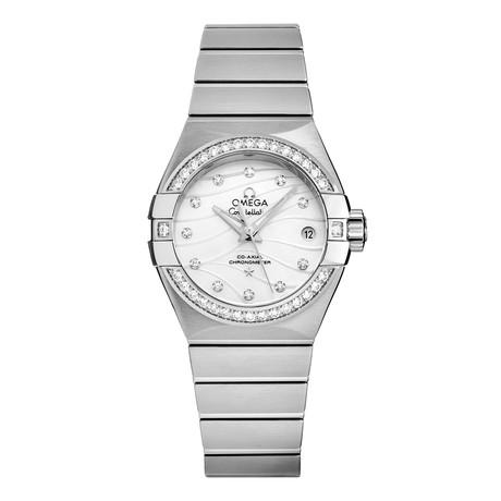Omega Ladies Constellation Automatic // 123.15.27.20.55.002
