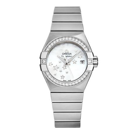 Omega Ladies Constellation Automatic // 123.15.27.20.05.001 // New