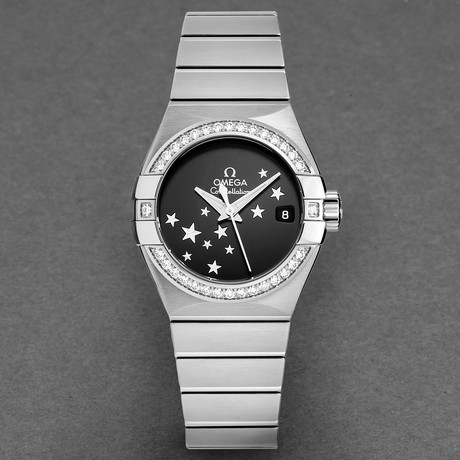 Omega Ladies Constellation Automatic // 123.15.27.20.01.001