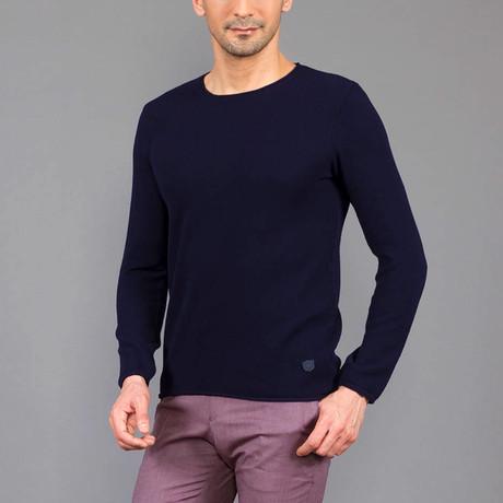 Jurgen Tricot Sweater // Dark Blue (S)