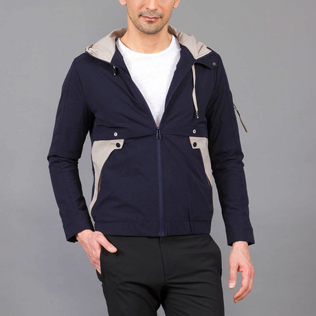 Mohammed Jacket // Dark Blue (Euro: 46)