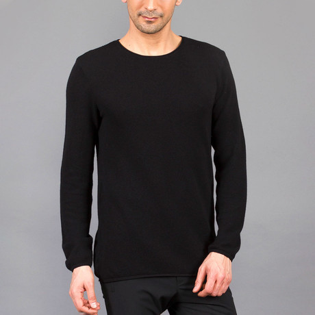 Mario Tricot Sweater // Black (S)