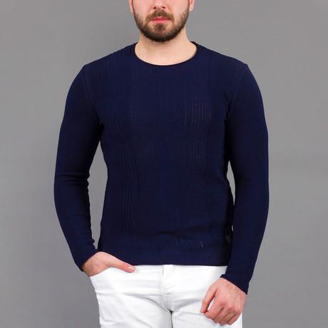 Michael Tricot Sweater // Dark Blue (S)
