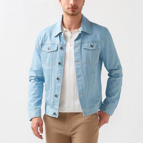 Kirk Denim Jacket // Blue (Euro: 46)