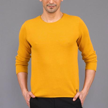 Deshawn Tricot Sweater // Mustard (S)