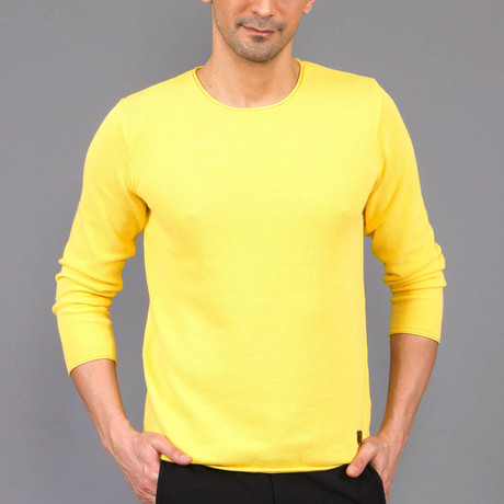 Rico Tricot Sweater // Yellow (S)