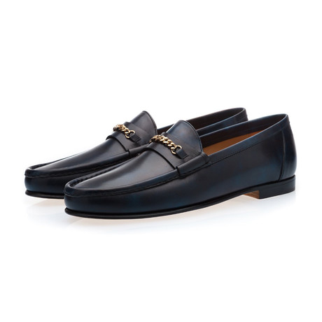 Logan Radica Loafers // Navy (Euro: 39)