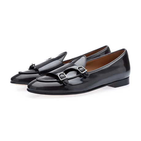 Tangerine 7 Brushed Belgian Loafers // Dark Gray (Euro: 39)