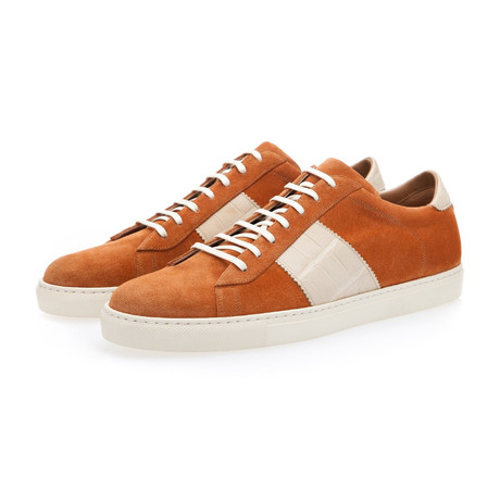 Lowell Softy Low Top // Cognac (Euro: 39)