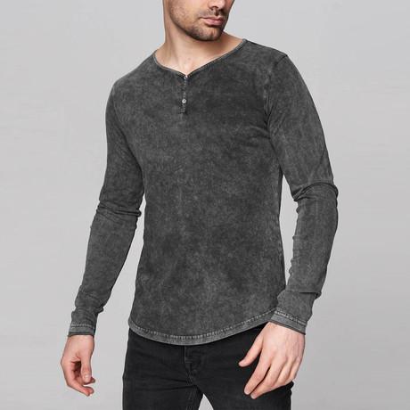 Ashton Long-Sleeve Shirt // Anthracite (S)