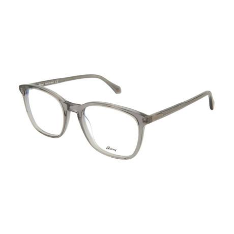 Men's Square Optical Frames // Gray