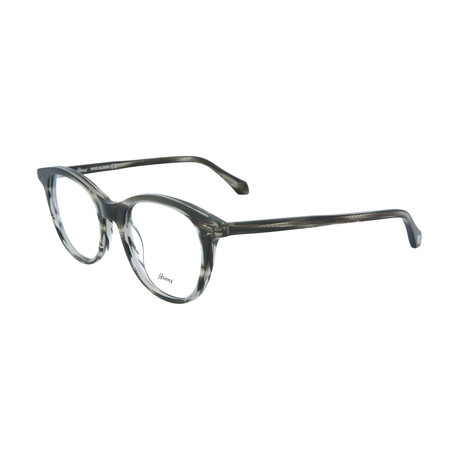 Men's Round Optical Frames // Gray Havana