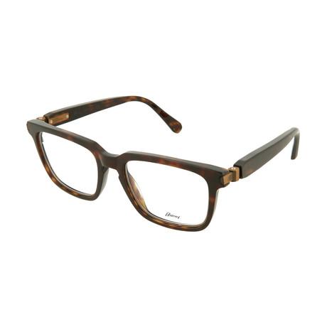 Men's Square Optical Frames // Brown Havana