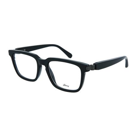 Men's Square Optical Frames // Black