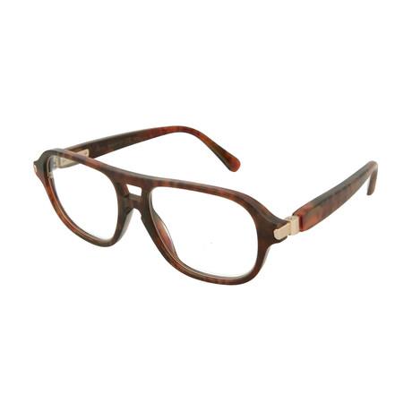 Men's Aviator Optical Frames // Shiny Horn