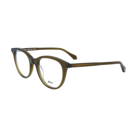Men's Round Optical Frames // Brown