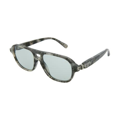 Men's Aviator Optical Frames // Gray Havana