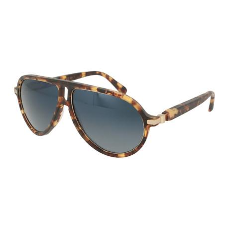 Men's Aviator Sunglasses // Havana + Gray