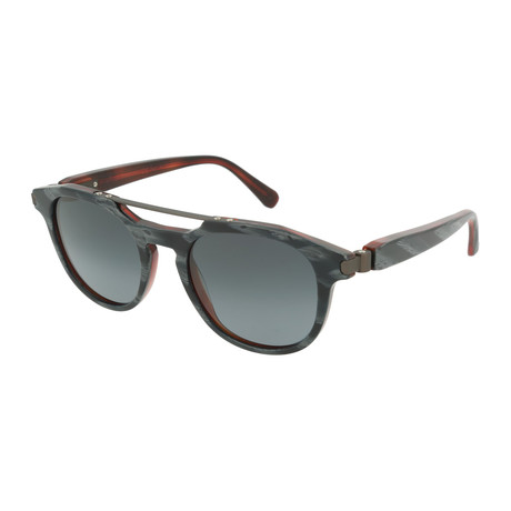 Men's Square Sunglasses // Brown + Gray
