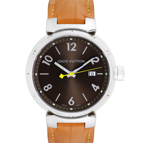 Louis Vuitton Tambour Quartz // Q1111 // Pre-Owned