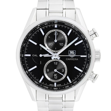 Tag Heuer Carrera Calibre 1887 Chronograph Automatic // CAR2110-4 //Pre-Owned