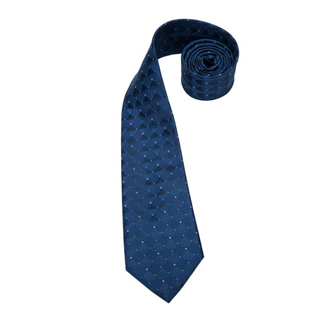 Umbro Handmade Silk Tie // Dark Blue