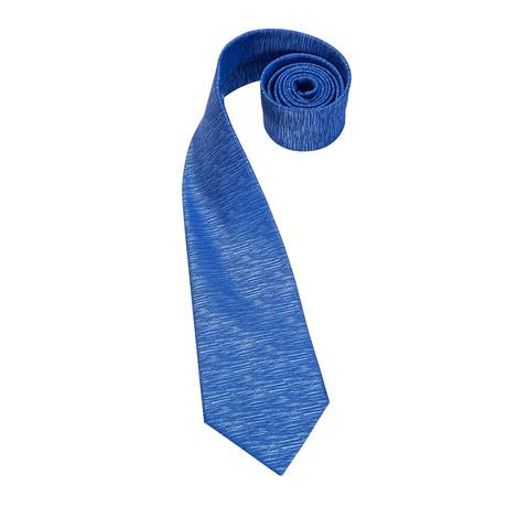Pacific Handmade Silk Tie // Cobalt Blue