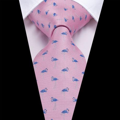 Mingos Handmade Silk Tie // Pink