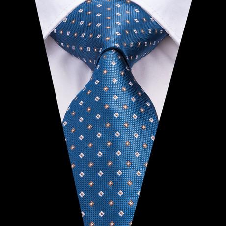 Westwood Handmade Silk Tie // Blue