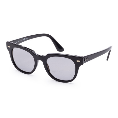 Unisex RB2168-901-P250 Meteor Classic Polarized Sunglasses // Black + Gray