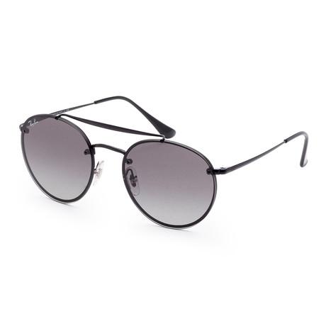 Unisex RB3614N-148-1154 Blaze Sunglasses // Black + Gray Gradient