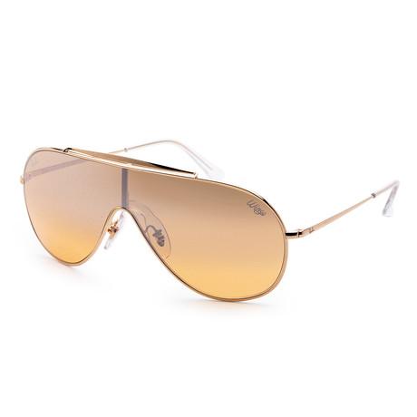 Men's RB3597-9050Y133 Sunglasses // Gold + Brown