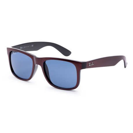 Men's RB4165-64698051 Sunglasses // Bordeaux + Blue