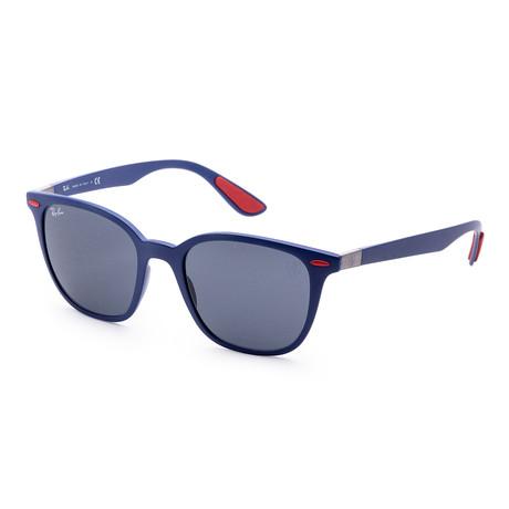 Men's RB4297M-F6048751 Classic Sunglasses // Matte Dark Blue + Dark Gray