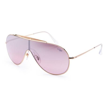 Men's RB3597-9050Y233 Sunglasses // Gold + Purple