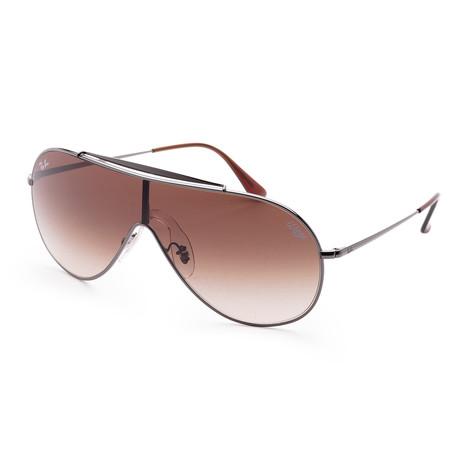 Men's RB3597-004-1333 Sunglasses // Gunmetal + Brown
