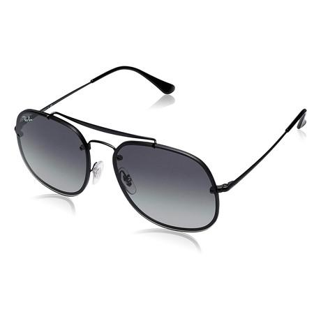 Unisex Blaze Sunglasses // Demi Gloss Black
