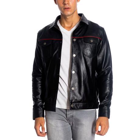 Dawson Leather Jacket // Black (XS)