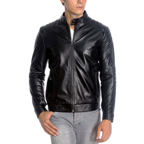 Randall Leather Jacket // Black (XS)