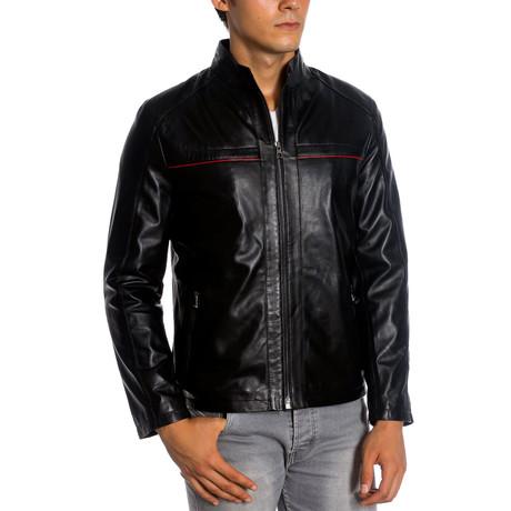 Gregory Leather Jacket // Black (XS)
