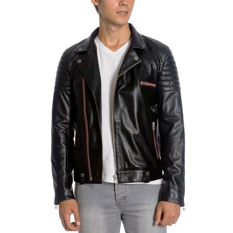 Phelps Leather Jacket // Black (XS)