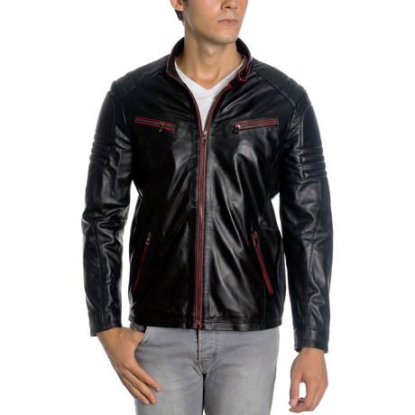 Manheim Leather Jacket // Black (XS)