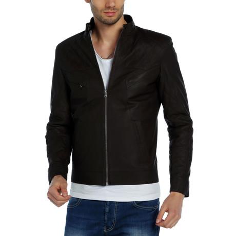 Luxor Leather Jacket // Dark Brown (XS)