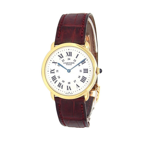 Cartier Ladies Ronde Louis Manual Wind // 0900 // Pre-Owned