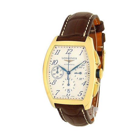 Longines Evidenza Chronograph Automatic // L2.643.6.73.2 // Pre-Owned