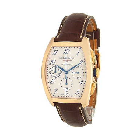 Longines Evidenza Chronograph Automatic // L2.643.8.73.2 // New