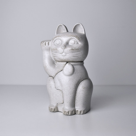 Small White Maneki-Neko